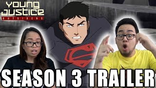 YOUNG JUSTICE SEASON 3 OUTSIDERS OFFICIAL TRAILER REACTION