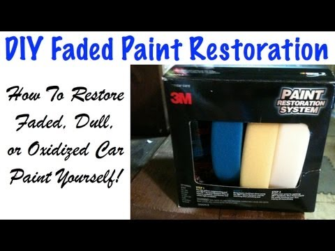 DIY How To Restore Faded and Oxidized Car Paint - 3M Paint Restoration System