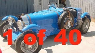 Bugatti Type 35 & 51  - 1 of 40 ever build !! WORKS of ART !!