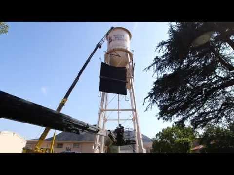 Warner Bros. Water Tower Makeover