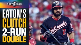 Adam Eaton comes up with CLUTCH 2-run double to lead Nationals to NLCS Game 2 win | MLB Highlights