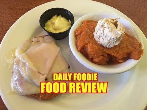 Sizzler Malibu Chicken Review - Jul 2, 2016 - Crispy with Ham and Swiss
