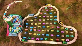 Brio Car Parking with Thomas The Train Kids fun Video | Choo Choo Thomas and Friend