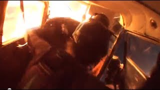 Download Airplane accident people jump out of burning plane! Horror in mid-air collision! 3Gp Mp4