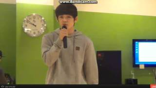 131101 SEVENTEENTV Seungcheol Sings..!!!!