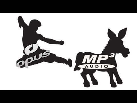 Reasons to use OPUS instead of MP3 | A comparison video