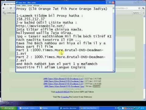 Téléhargement Gratuit Avec  Proxy Orange  By Bouja video