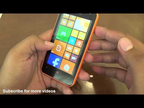 Microsoft Lumia 430 Dual SIM Hands on Review - Camera, Features, Price, India launch