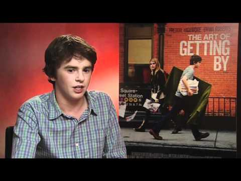 One Lucky Sugarscape winner interviews Freddie Highmore about The Art of Getting By!
