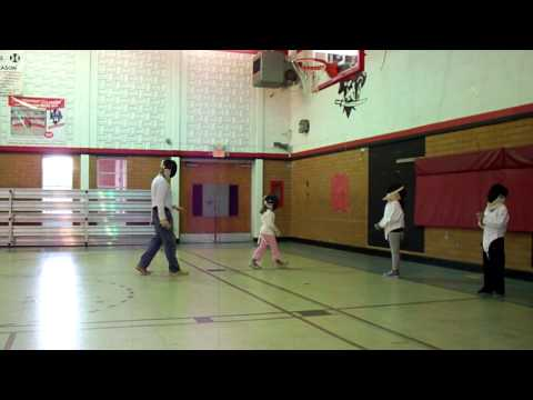 Fencing Lesson at Holy Family Catholic School - 10/24/2011