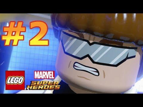 LEGO Marvel Super Heroes - Walkthrough - Level 2: Times Square Off