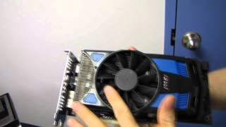 MSI AMD Radeon HD 7770 PE Power Edition Video Card Unboxing & First Look Linus Tech Tips