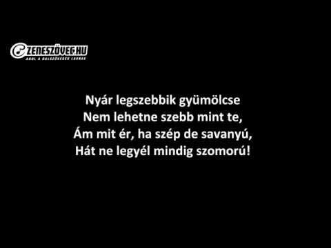 Metró Együttes - Citromízű Banán (dalszöveggel - Lyrics Video)
