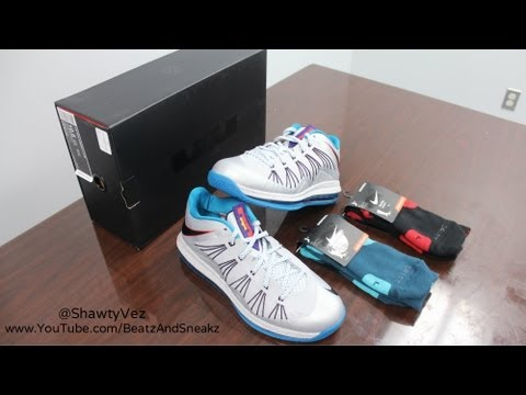 Nike LeBron X Low Akron Aeros Review