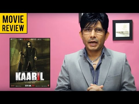 Kaabil   Movie Review by KRK   KRK Live   Bollywood Review   Latest Movie Reviews