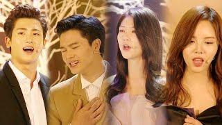 [연기대상] 박형식·육성재·공승연·이열음의 드라마 OST 메들리 @연기대상 20151231