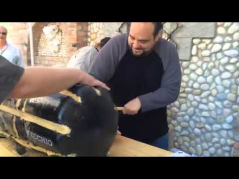 Mazzaro's Annual Cheese Cutting w/ Mike Calta (pt.1)