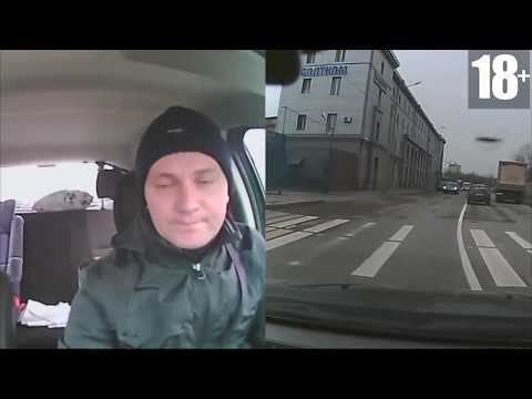 Неадекватные быдло водители. Подборка драки на дороге октябрь 2015
