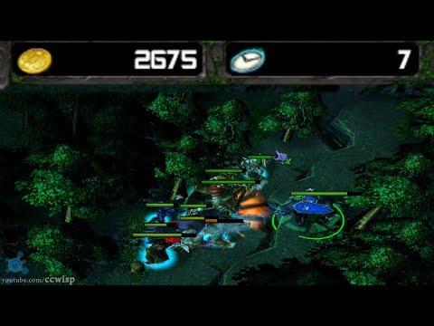 DotA Tricks #12 - Luna Farm 2500 Gold 7 minutes
