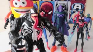 Prowler y Spider Gwen Spiderman Into The Spider-Verse #marvel | #kidsplacetown
