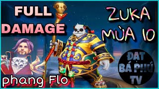 Liên quân Mobile | ZUKA mùa 10 | Full Damage gặp Florentino và cái Kết!