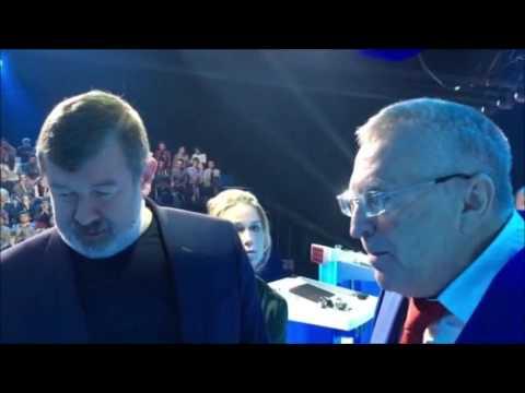 Жириновский пари на 10 000 рублей о  революций 2017