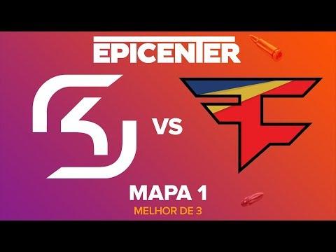 EPICENTER 2017 - SK Gaming vs. FaZe Clan (Mapa 1 - Inferno) - Narração PT-BR