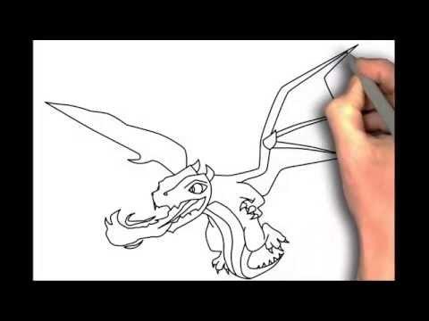 Видео как нарисовать Драго