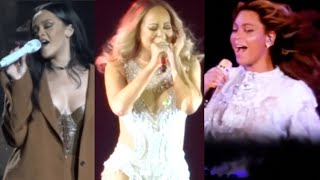 Beyonce, Rihanna, and Mariah Carey best live 2016 vocals!