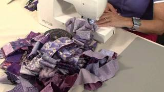 40 minute scrap quilt with Valerie Nesbitt