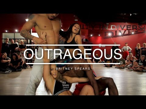 """Britney Spears -  """"Outrageous""""   Choreography by Tricia Miranda"""