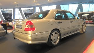Mercedes-Benz C36 AMG (W202) - 50 Years of AMG - Mercedes-Benz Museum Stuttgart