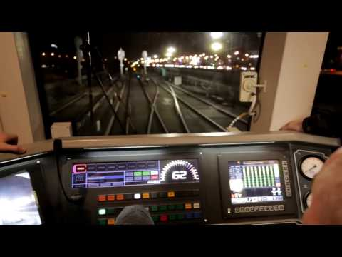 Обкатка на ТКЛ нового поезда «Москва» для Московского метрополитена