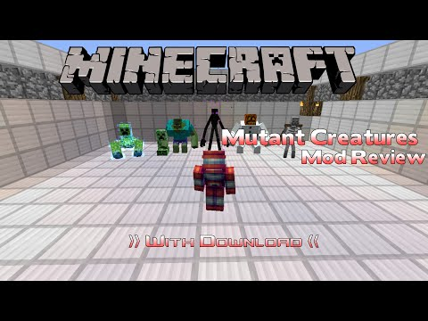 Review - Mutant Creatures Mod 1.7.10
