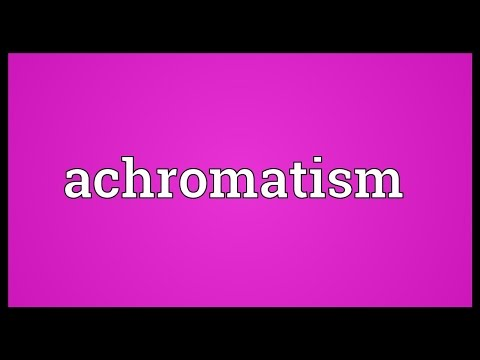 Header of achromatism