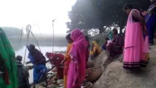 Chhat pooja simra jhanjharpur 2015
