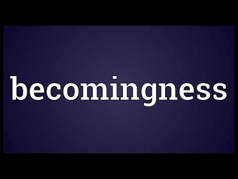 Header of becomingness