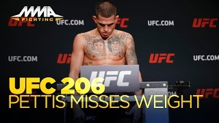 Anthony Pettis Misses Weight at UFC 206 Weigh-Ins
