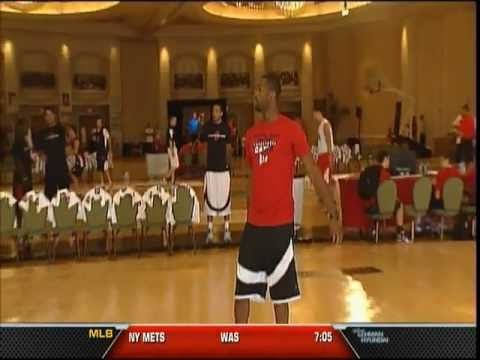 August 17, 2012 - WSVN - Dwyane Wade Hosts Fantasy Camp in Miami Beach with Erik Spoelstra