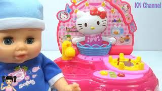 ChiChi ToysReview TV - Trò Chơi búp bê trổ tài nấu cơm và mì ngon cực kỳ