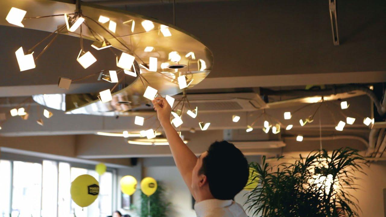 LG Chem OLED Light For Marley Coffee Shop YouTube