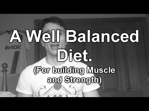 A well balanced diet- To build muscle and strength.