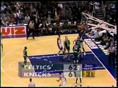 March 7, 1995 Celtics@Knicks (Patrick Ewing 46 points vs Dino Radja 29 points)
