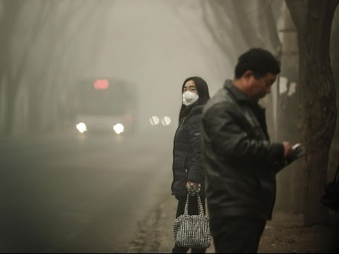 China pollution: Beijing issues first red smog alert