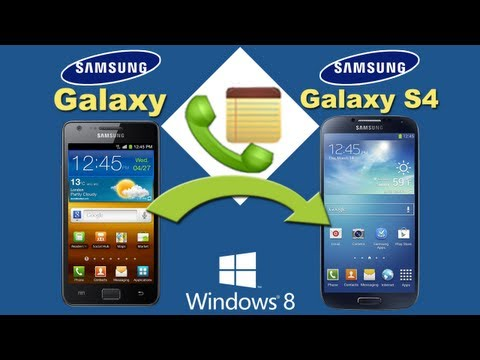 Galaxy S1/S2 to S4 [Call History Transfer]: Transfer Call History from Samsung Galaxy S1/S2 to S4