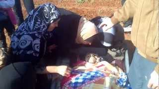 اليادودة:: ام الشهيد محمد الزعبي ترثي ابنها  16-1-2013م.