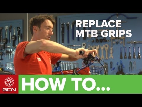 How To Change Mountain Bike Grips