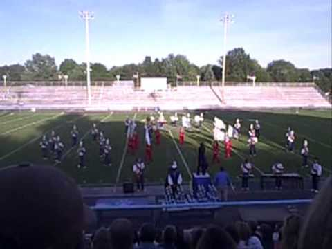 Indian Valley High School Marching Band @ Music in Motion 2009, Louisville, Ohio