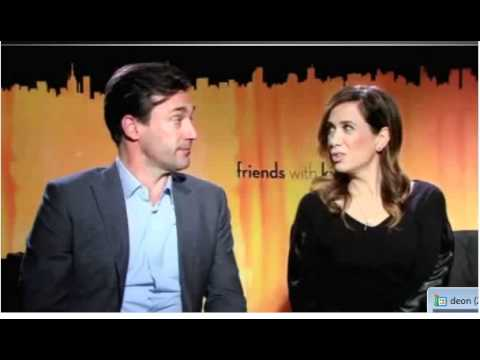 Megan Fox Jon Hamm Kristen Wigg Chris O'Dowd ET Canada Friends with Kids Interview