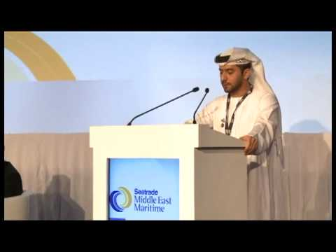 ADPC: Capt Mohamed Al Shamisi at Seatrade Middle East 2012.
